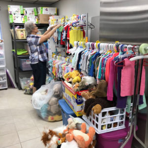 Love Life infant clothing and supplies