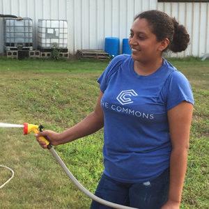 Giving Garden Volunteer